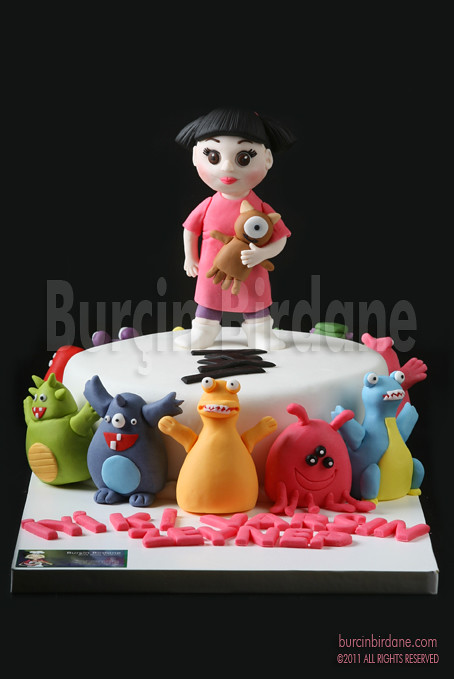 Little Monsters Babling Cake