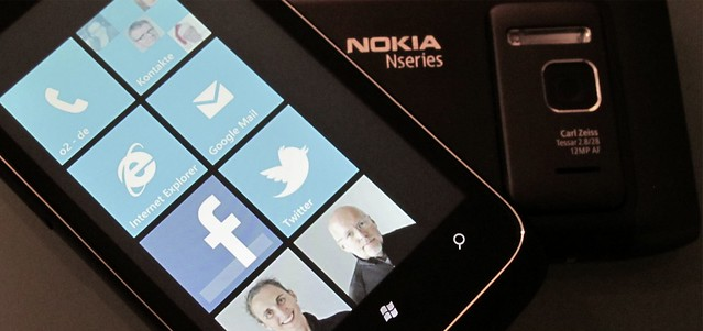 Windows Phone 7 On Nokia N8