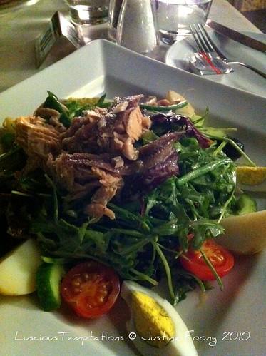 Salade Niçoise - Joe's Café, Dubai