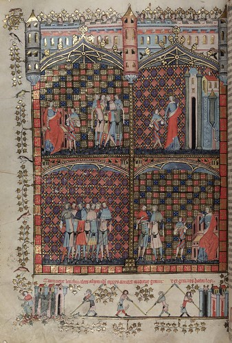 011-folio 196 verso-The Romance of Alexander - MS. Bodl. 264 © Bodleian Library-University of Oxford 1999