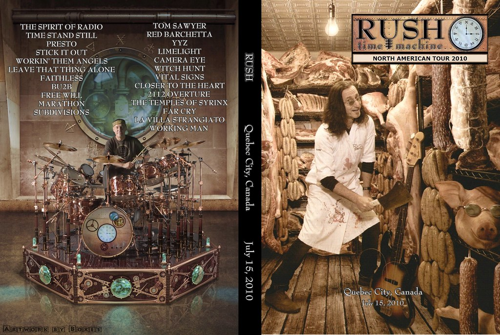 Rush - Time Machine - Quebec (2010)(2xDVD5)