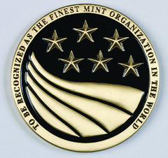 Moy Mint Director's Coin for Excellence obverse
