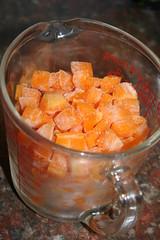 butternut squash, cubed