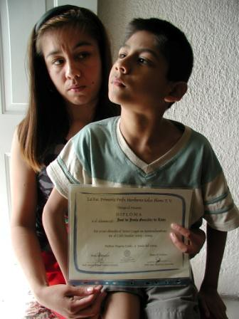 Alcoa worker, who was unjustly fired, with her disabled son