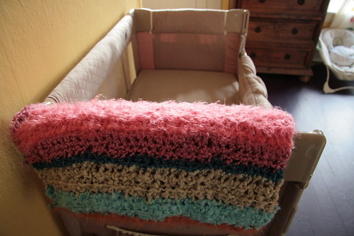 Blanket for baby.