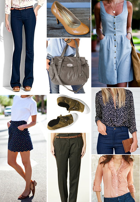 spring clothing wishlist