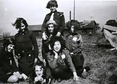 Jewish Girl Guides, c.1930 (archivesplus) Tags: camp manchester jewish jewishmanchester jewishcommunitymanchester documentaryphotographicarchive manchesterlocalimagecollection gb124 gb127 jewishgirlguidesfallowfield jewishgirlguides