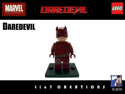 Custom minifig 69 - Daredevil custom minifig