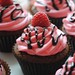 119. Chocolate Raspberry Cupcakes