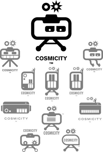The Cosmicity Logobot Evolution