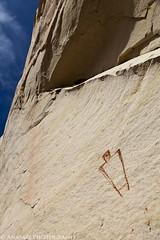 Headless Elk Watcher (IntrepidXJ) Tags: fishcreekcove pictographs rockart utah adventr randylangstraat anasaziphotography