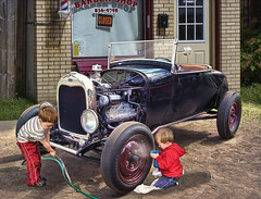 Mayberry State Of Mind .... (Rat Rod Studios) Tags: ford kids autos fathersday hotrods 1920snormanrockwell