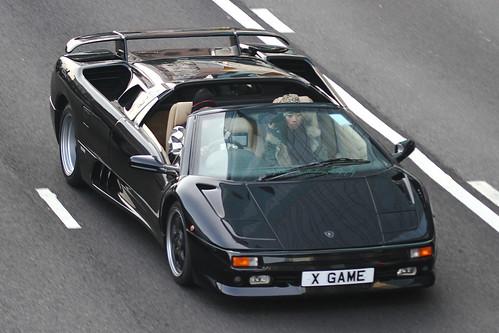 93 Lamborghini Diablo Vt. Lamborghini Diablo VT Roadster