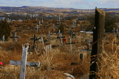 San Juan Mission Cemetery (slickrockphotos) Tags: newmexico cemetery navajo