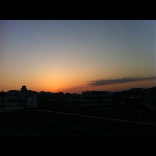 2011/2/22 夕焼け
