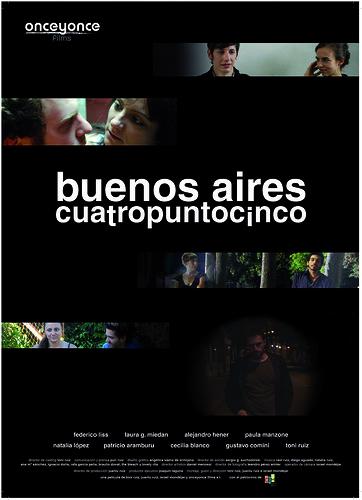 cartel BsAs cuatropuntocinco