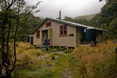 Blue Lake Hut Photo