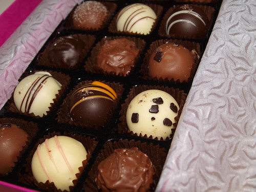 Moko Chocoholics Truffle Box