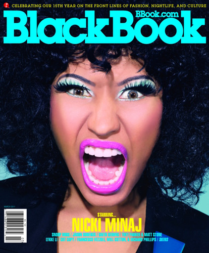 Nicki Minaj BlackBook Magazine pictures