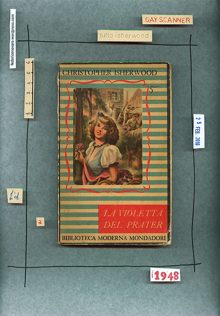 Christopher Isherwood, La violetta del Prater, Mondadori 1948. Copertina