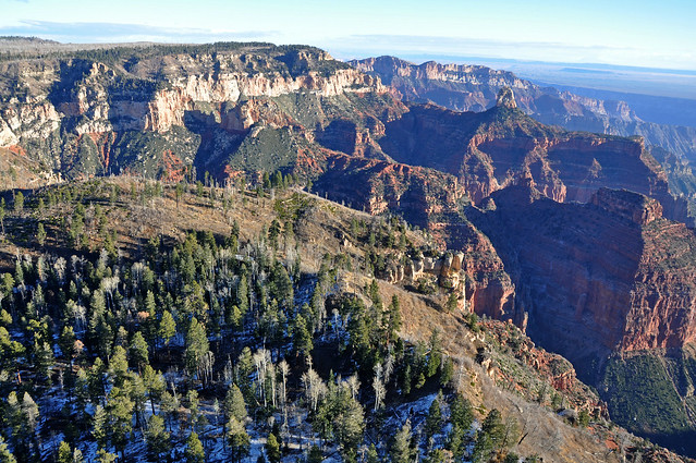 Grand Canyon DEIS Aerial Point Imperial amp Mount Hayden by Grand Canyon NPS