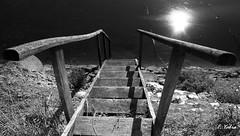 Subir, bajar ó a donde ir ?? (fotogra_fer) Tags: sol contraluz mar madera escaleras bajar subir bahía escalón cantanbria elastillero