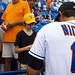Mike Nickeas Signs Autographs 2