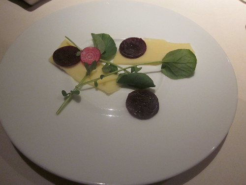 Baume - Palo Alto - February 2011 - Gruyere, Beets, Watercress