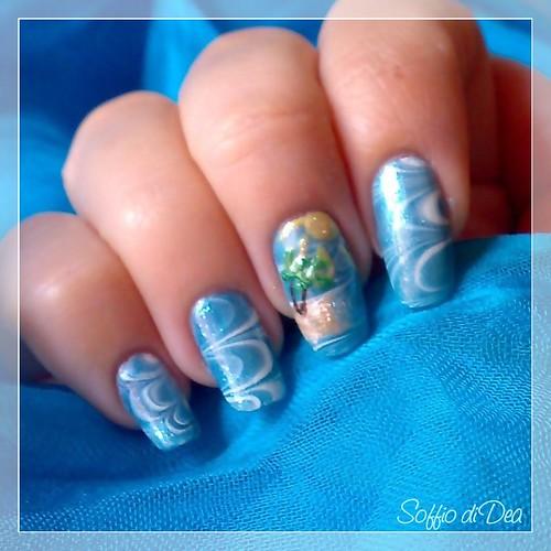 marble nail art-18