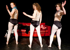 Lady Couch! The Debut of Artycorn, Moodycorn and Nerdycorn (SRP Austin Photography) Tags: girls hot sexy lauren beautiful smile austin fun creativity dance webcam women texas live courtney audrey create improv threesome spontaneous svt 2011 cornography webshow artcorn ladycouch moodycorn nerdycorn