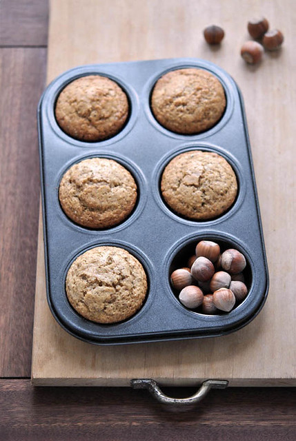 1.Muffins alle nocciole