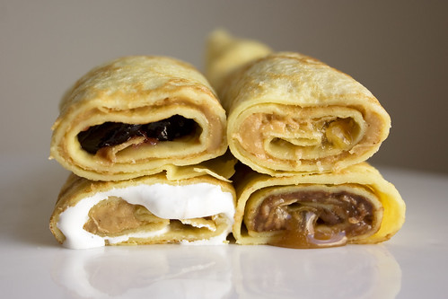 Peanut Butter Crepes
