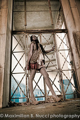 fashion drama (Maximilian Nucci) Tags: nyc girls newyork girl fashion legs outdoor models dresses ebony urbanfashion