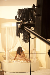 Kelly Brook Behind the scenes at the Lynx Fallen Angel shoot (lynxeffect) Tags: game angels fallen kelly brook behind scenes excite lynx