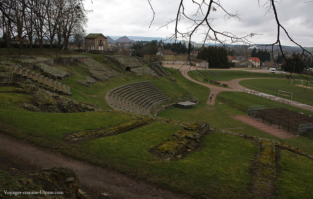 théâtre romain d'Autun