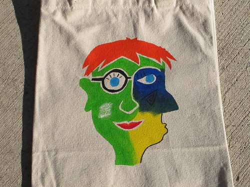 C-Dude's personalized party favor bag