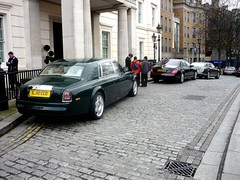 Luxury Cars (BenGPhotos) Tags: london car rollsroyce panasonic jaguar phantom luxury bentley combo xj maybach carspotting lanesborough mulsanne worldcars dmcfs3 lj10cco