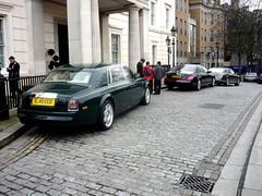 Luxury Cars (BenGPhotos) Tags: london car rollsroyce panasonic jaguar phantom luxury bentley combo xj maybach carspotting lanesborough mulsanne worldcars dmcfs3 lj10cco