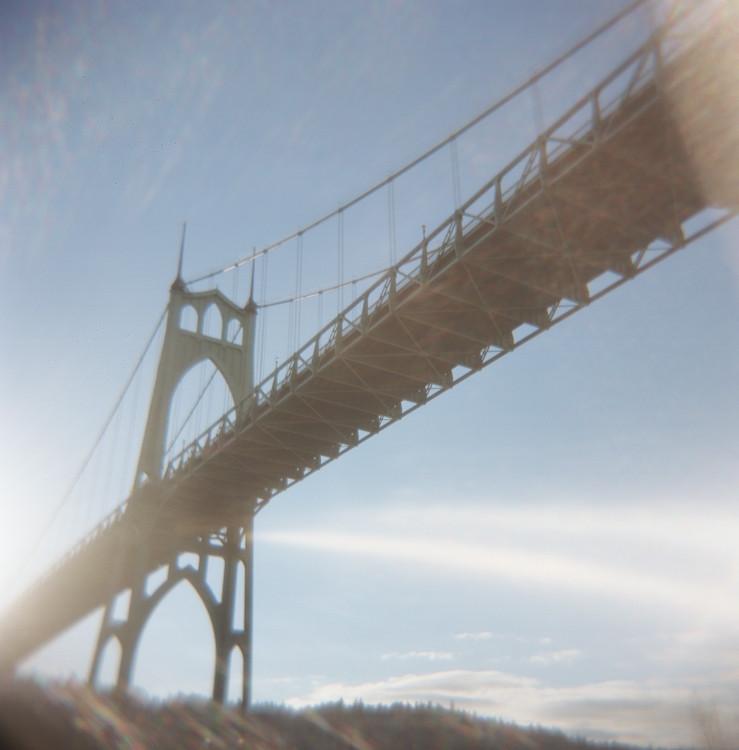 My #2 favortie bridge in Portland...