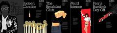 The Films of John Hughes - DVD Booklet - Final (Jordan.A.) Tags: film design graphicdesign dvd cover 80s illustrator booklet 1980s ferrisbueller designers adobeillustrator thebreakfastclub sixteencandles mockcover ferrisbuellersdayoff johnhughes weirdscience illustratorcs5