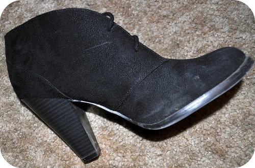 1:2 Black Booties