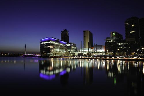 Media City Salford Manchester
