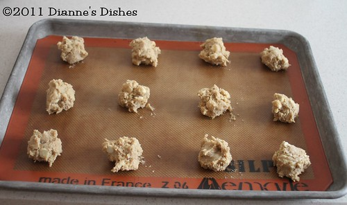 White Chocolate Cashew Cookies: Ready to Bake