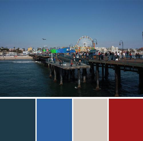 color-palette-blog-walk-santa-monica-pier-los-angeles