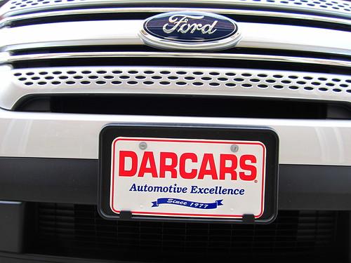 Diy Front License Plate Bracket Removal Ford Explorer
