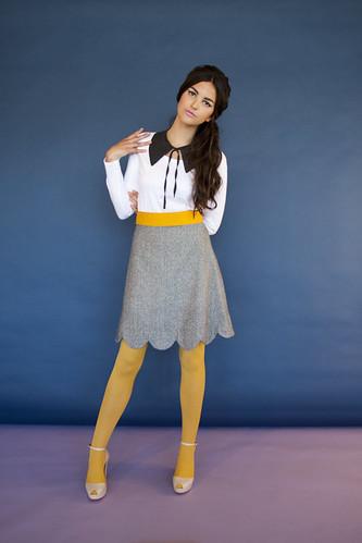 10 fair lady skirt grey