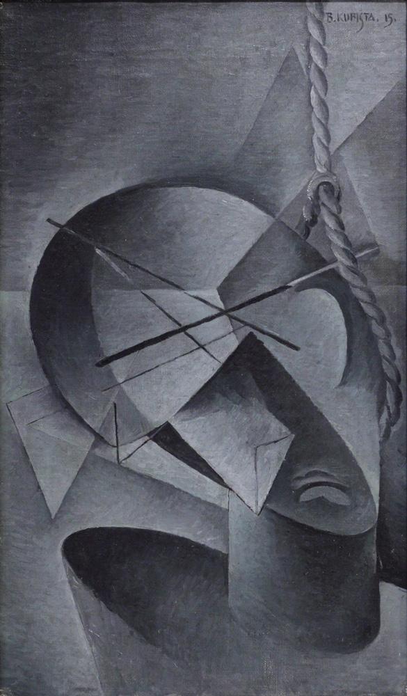 Bohumil Kubišta, Oběšený [Hangman], 1915