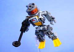 MK-1 Undersea Exploration Suit (Cam M.) Tags: ocean sea water lego awesome under proof exploration mech hardsuit