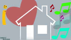 I  House  (hobyz) Tags: music house love sign photoshop avatar picture designs kuwait q8   2011  i   whab hobyz eiemultimedia aggressivexx