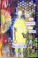 she 2 (LoveRenewed) Tags: mixed media